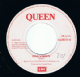 "QUEEN One Vision 7"" Single Vinyl Record 45rpm EMI 1985"